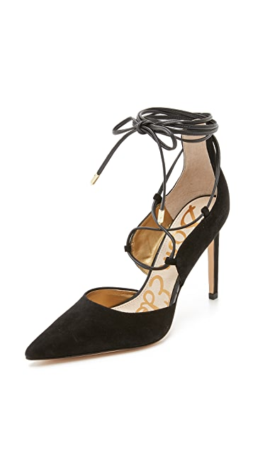 Sam Edelman Dayna Lace Up Pumps