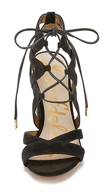 Sam Edelman Yardley Lace Up Sandals