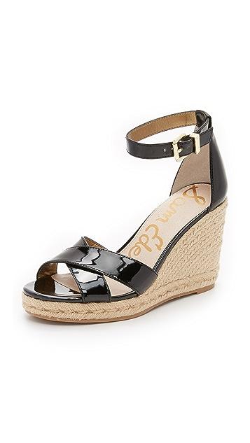 d00adacbc29 Sam Edelman Brenda Espadrille Wedge Sandals