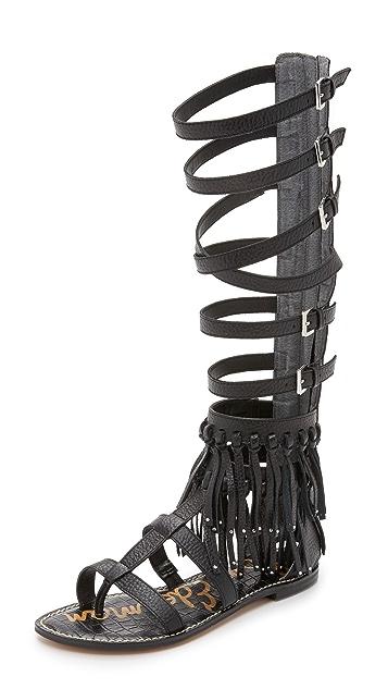 55307d08fe4e85 Sam Edelman Gardenia Tall Gladiator Sandals