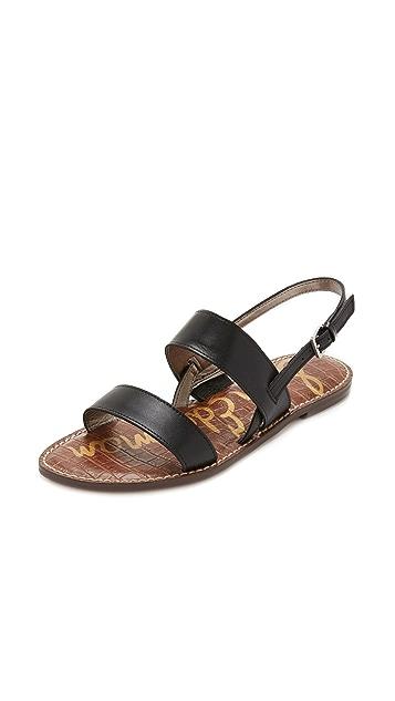 540ecd7b7859 Sam Edelman Georgiana Flat Sandals