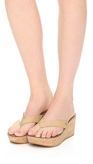 4310497ab ... Sam Edelman Romy Wedge Thong Sandals ...