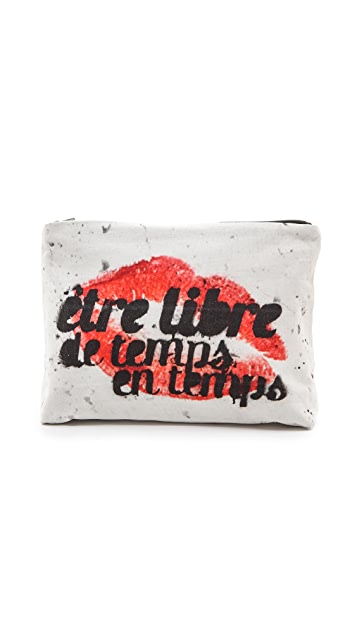 Samudra French Lips Pouch