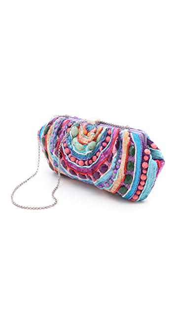 Santi Purple Stones Clutch
