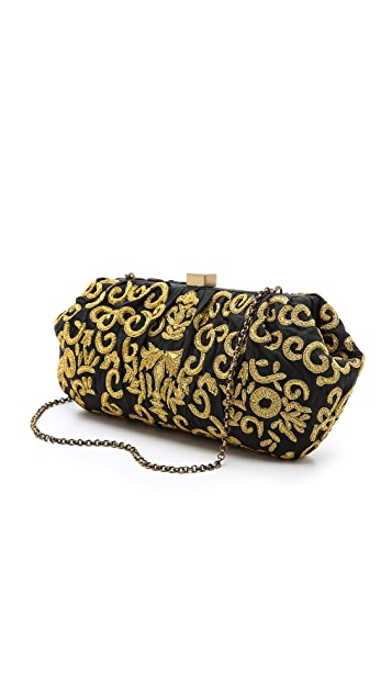Santi Embroidered Clutch