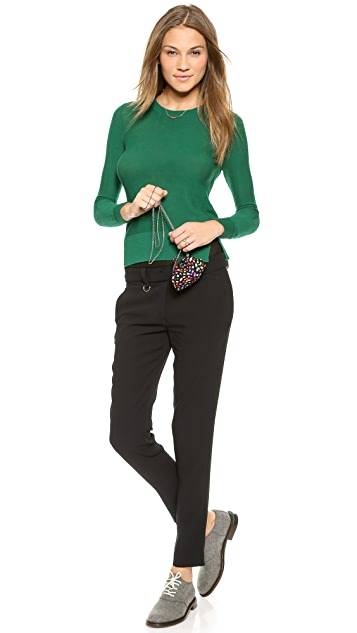 Santi Jeweled Multi Color Clutch