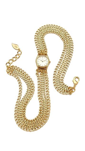 Sara Designs Small All Chain Watch