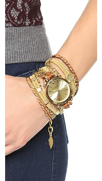 Sara Designs Macrame Wrap Watch