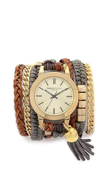Sara Designs Prima Wrap Watch