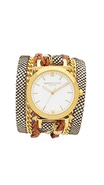 Sara Designs Классические наручные часы