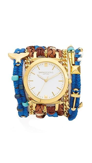 Sara Designs Playa Wrap Watch