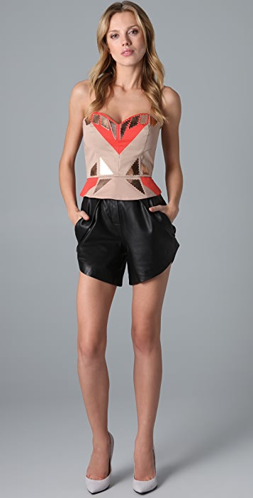 sass & bide The Divided Corset Top