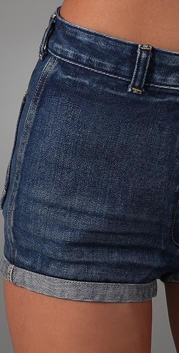 sass & bide The Wild Denim Shorts