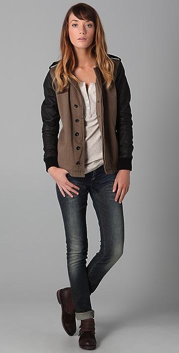sass & bide Now & Again Contrast Jeans