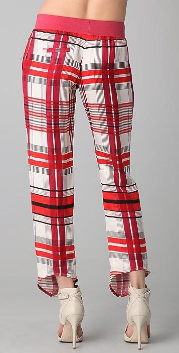 sass & bide The Front Line Plaid Pants