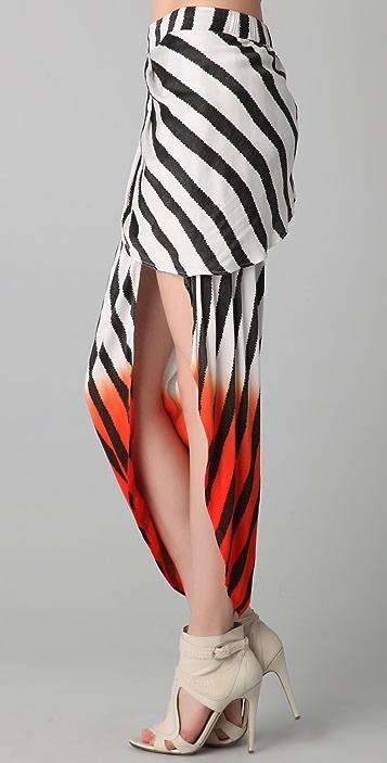 sass & bide Where We Started Striped Skirt