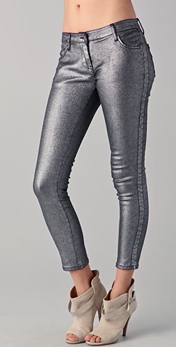 sass & bide Three Words Metallic Jeans