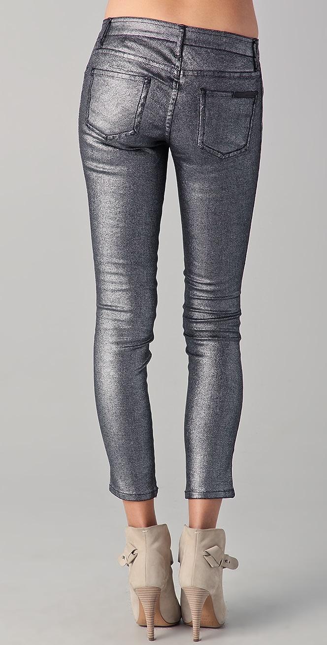 Sass Bide Three Words Metallic Jeans Shopbop