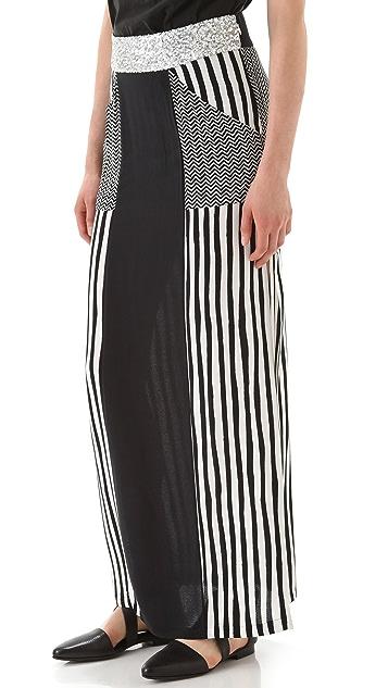 sass & bide The Shock Tactic Long Skirt