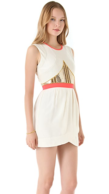 sass & bide We Are Stronger Dress