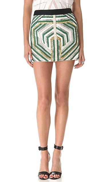 sass & bide The Sequin Explosion Miniskirt