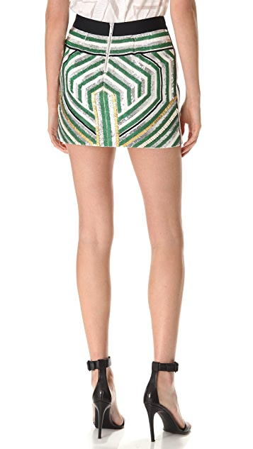 sass & bide The Sequin Explosion Miniskirt