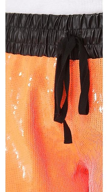 sass & bide Audience Sequin Shorts