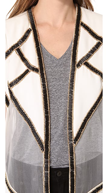 sass & bide The Native Fox Jacket