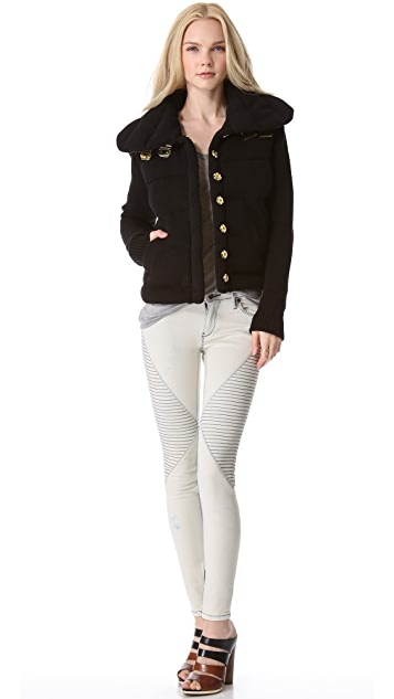 sass & bide The Final Offer Puffer Jacket