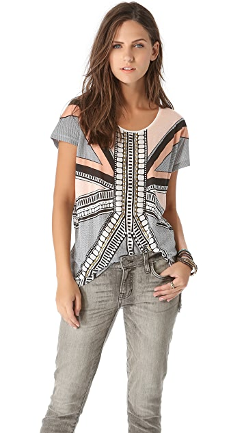 sass & bide Playing with Fire Tee