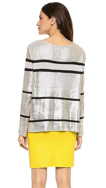 sass & bide Confetti War Metallic Sweater