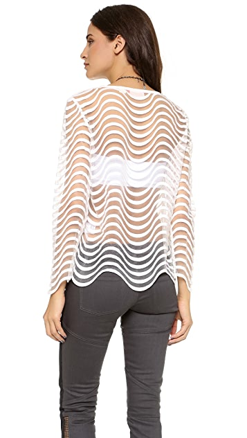 sass & bide Honor Among Thieves Top