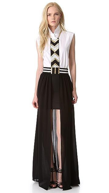 sass & bide Hakuna Matata Harness Skirt