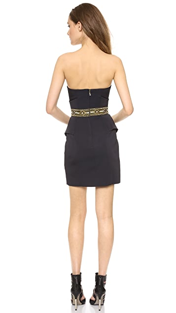 sass & bide Self Service Strapless Dress