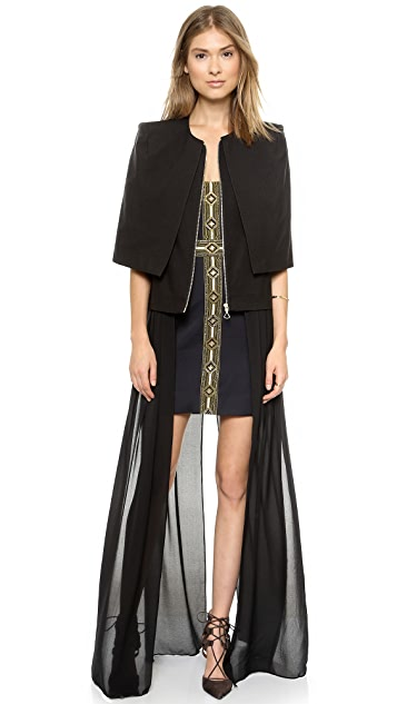 sass & bide The Heart Business Long Vest
