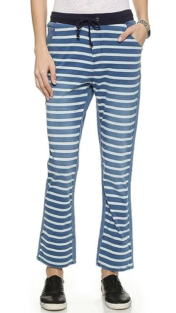 sass & bide Facing North Striped Pants