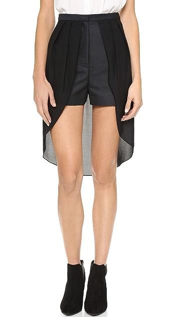 sass & bide The Whitest White Shorts