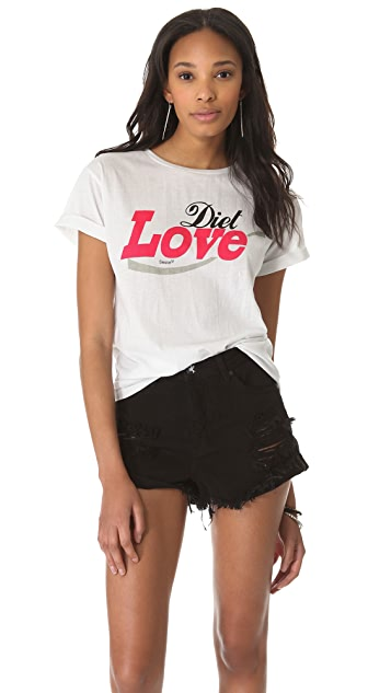 Sauce Diet Love Baggy Tee