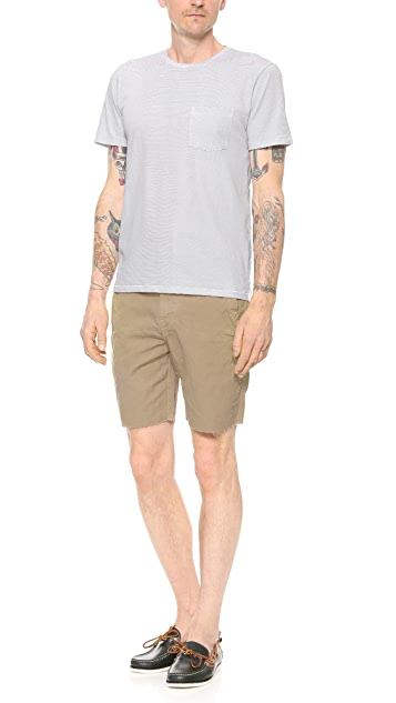 Save Khaki Weekend Cutoff Shorts