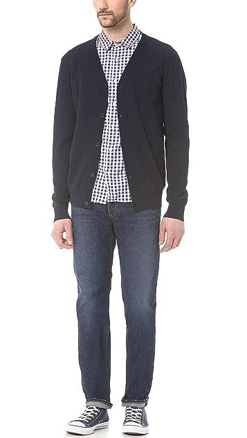 Save Khaki Short Sleeve Simple Shirt