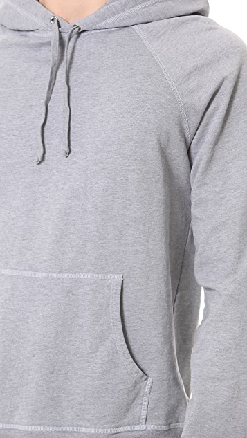 Save Khaki Long Sleeve Fleece Hoodie