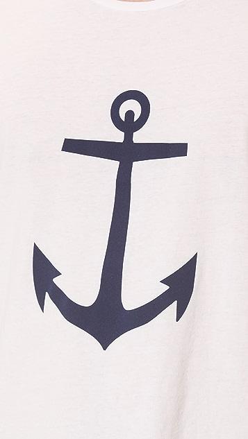 Save Khaki Anchor T-Shirt