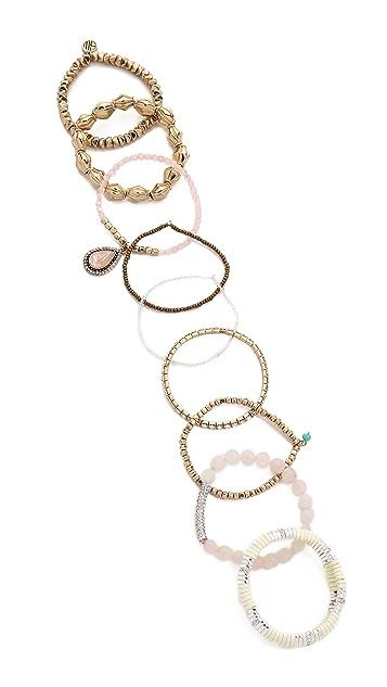 Samantha Wills Wolrd form Here Bracelet Set