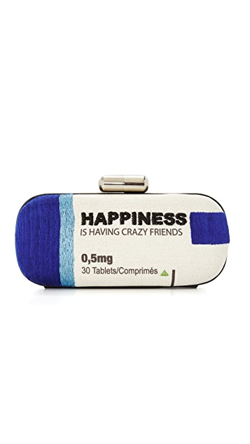 Sarah's Bag Happiness Day Big Box Clutch