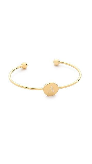 Sarah Chloe Ella Engraved Adjustable Bracelet