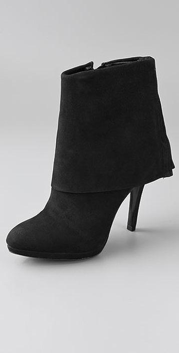 Schutz Cuff High Heel Booties