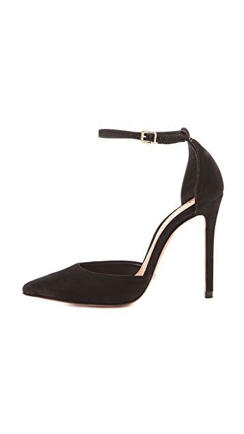 Schutz Irma Ankle Wrap Pumps