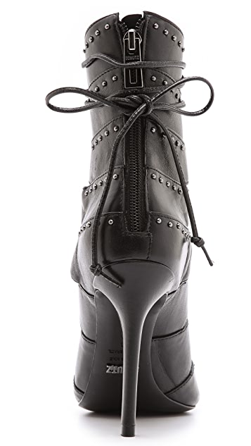 Schutz Brianna Lace Up Booties
