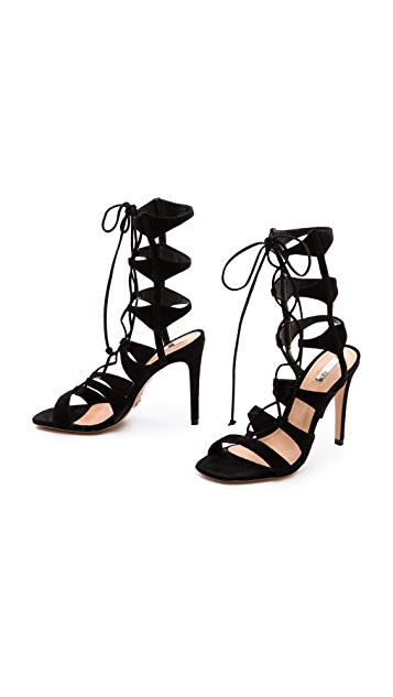 Schutz Erline Lace Up Sandals