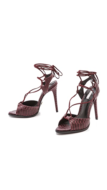 Schutz Oriana Ankle Wrap Sandals
